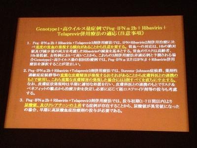 2012年C型慢性肝炎治療ガイドライン案2