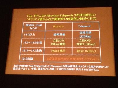 2012年C型慢性肝炎治療ガイドライン案3